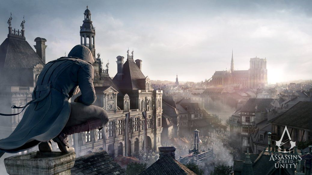 Assassin's Creed Unity на PC.